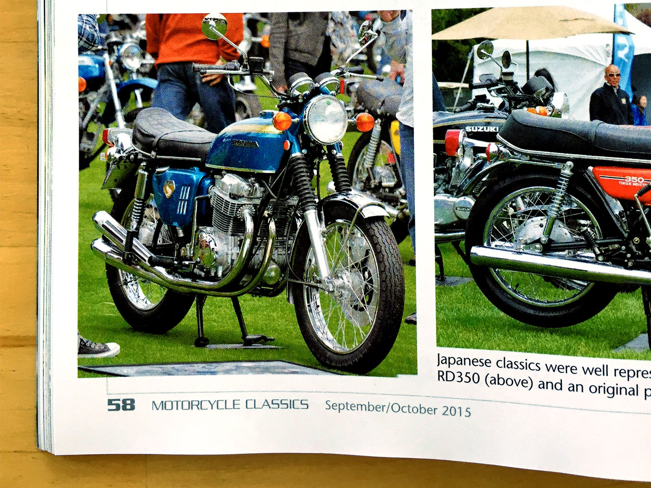 Motorcycle Classics September/October 2015 Page 58